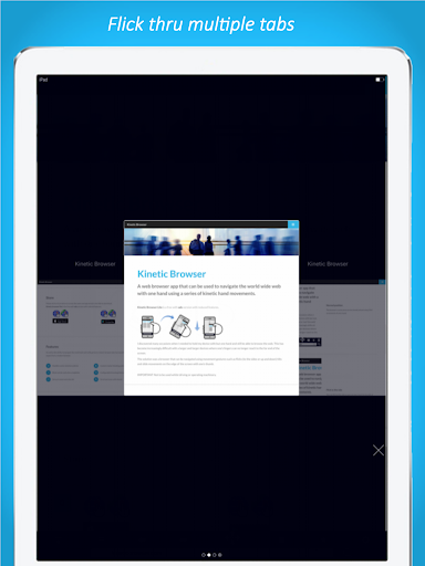 Kinetic Browser  screenshots 8