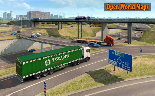 US Heavy Grand Truck Cargo 3D Driver 1.0 screenshots 13