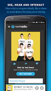 NextRadio Free Live FM Radio Screenshot 4
