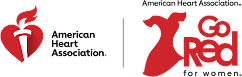 The American Heart Association's Go Red for Women logo
