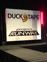Photo: Duck Tape had a Project Runway show with Duck Tape fashions.
