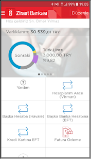 Ziraat Mobil Screenshot