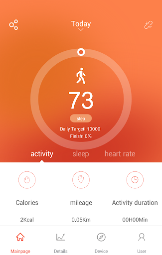 VeryFitPro screenshot 1
