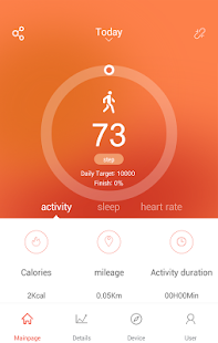 VeryFitPro Screenshot