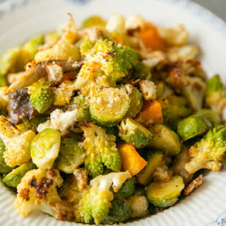 Roasted Vegetables with Mushrooms