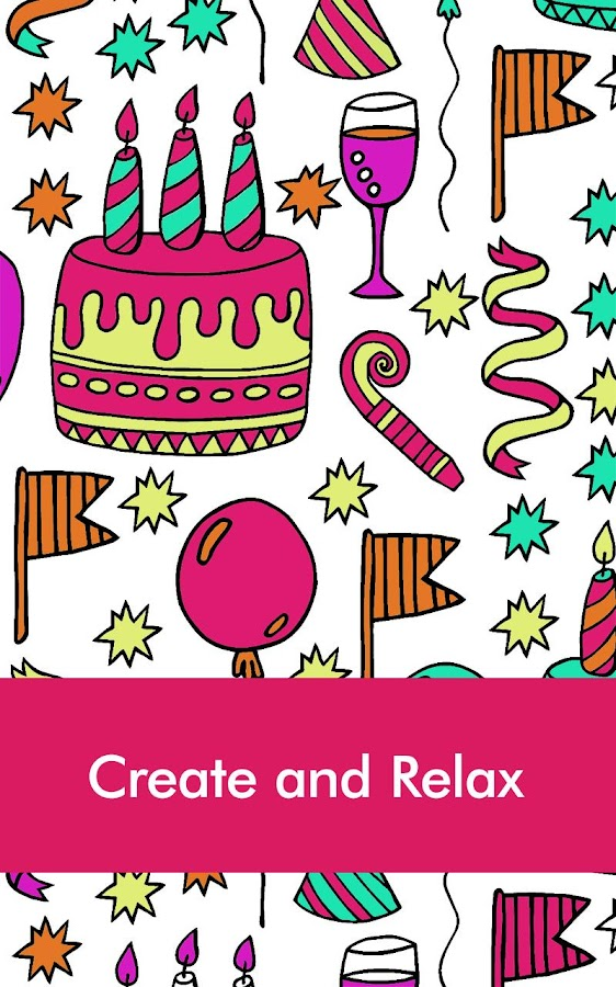 Coloring Book For : Doodle coloring book for adult android apps on google play