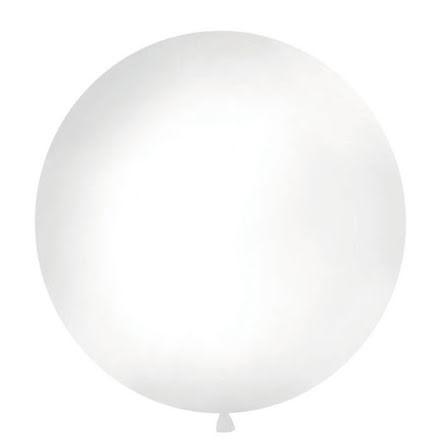 Jätteballong Vit