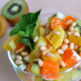 Fruit Salad With Golden Kiwi Fruit
