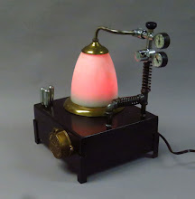 Photo: steampunk aether lamp