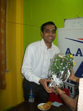 Photo: UPSC Toppers Seminar 2012 with Topper Abhijeet Chaudhary 2011 AIR 206 at A A SHAH's IAS Institute, NERUL