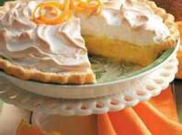 Orange Cream Meringue Pie Recipe