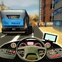 Police Bus City Prisoner Duty icon
