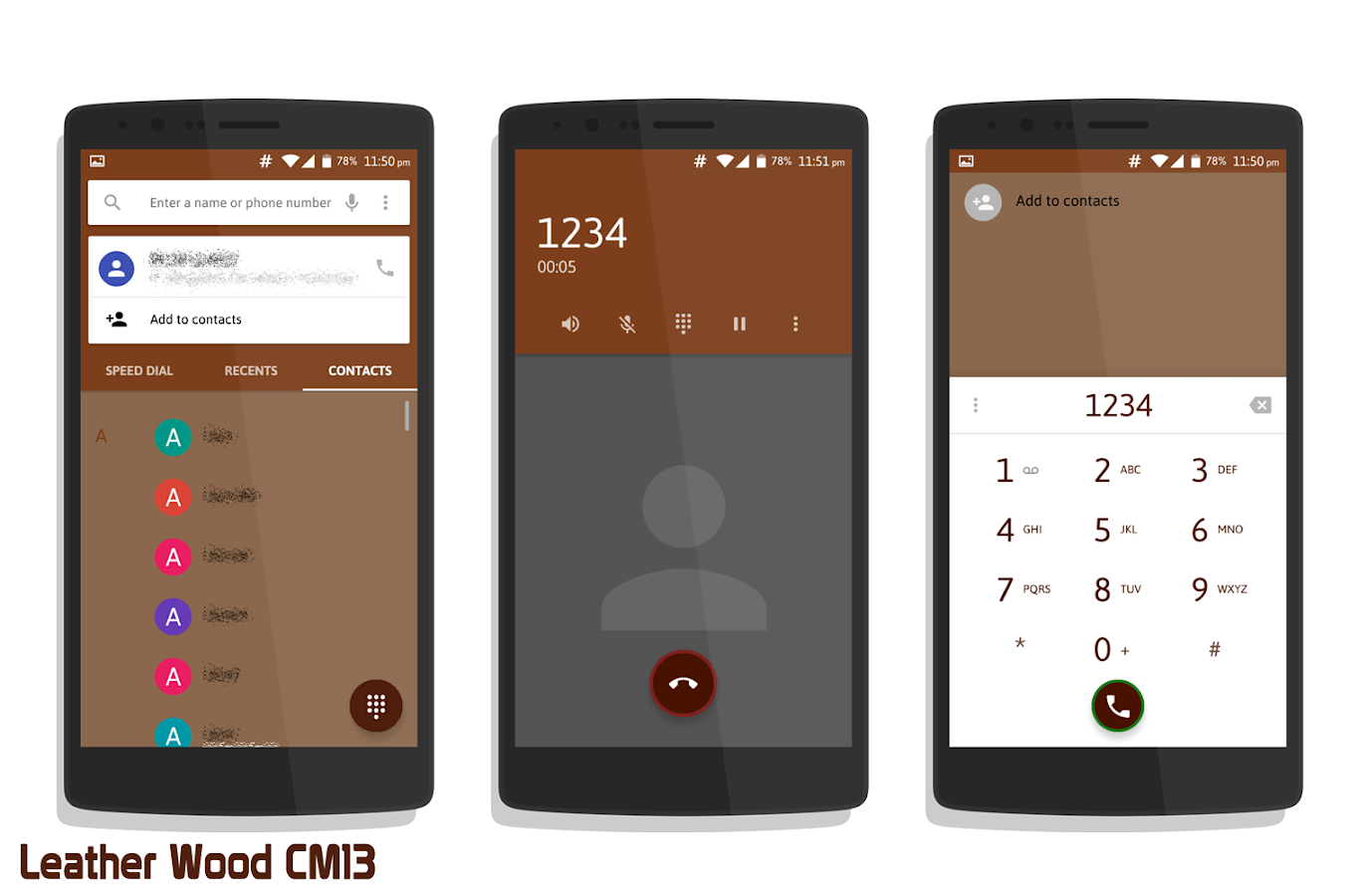 Leather Wood CM13- screenshot