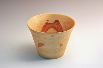 "Photo: Tim Aley - Bowl - 5"" x 6"" Box Elder"