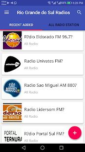 Rio Grande do Sul Todas as estações de rádio - náhled