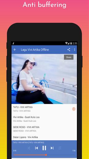 Lagu Vivi Artika Offline screenshot 14