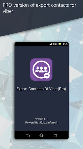 Export Contacts Of Viber