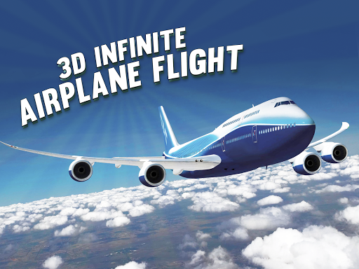 三维无穷飛機航班 - 免费飞行员賽車游戏