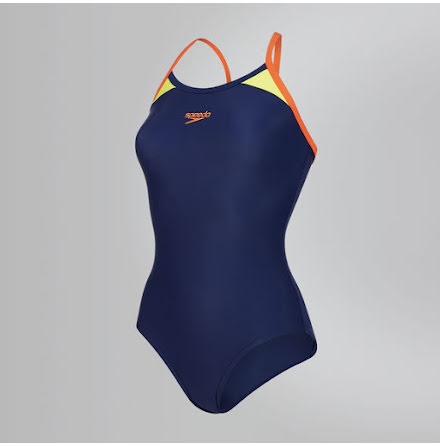 Splice Thinstripe - Navy/Orange