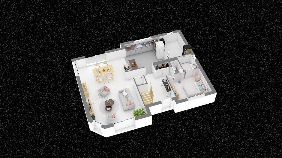 Vente maison 5 pièces 123.1 m² à Moyenneville (80870), 203 095 €