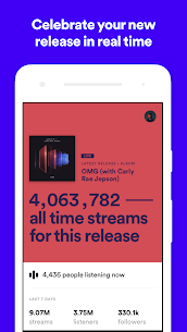 Spotify for Artists 2.0.18.1756 Mod APK Updated 1