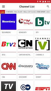 Vietnam TV EPG Free - náhled