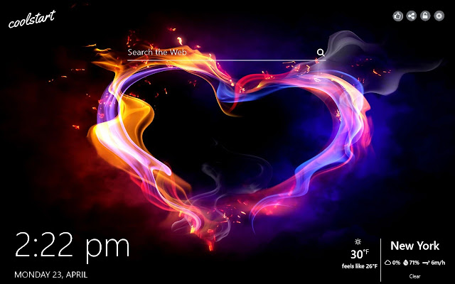 Hearts Hd Wallpapers Love New Tab Theme
