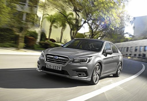 Subaru has updated its Legacy in SA. Picture:
