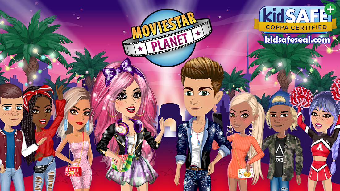 MovieStarPlanet Android App Screenshot