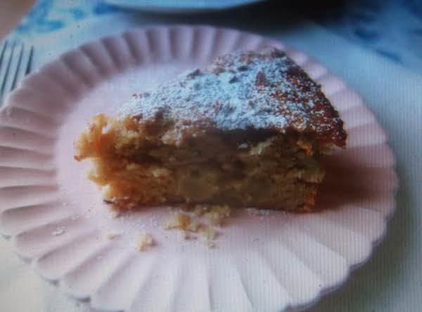 Apple-almond Coffee Cake