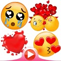 💕😍WAStickerApps animated stickers for Whatsapp icon