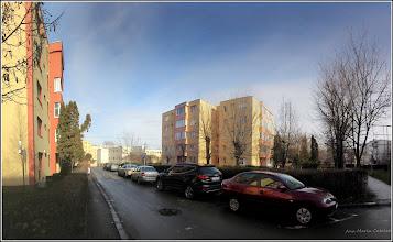 Photo: Calea Victoriei, alee de acces la blocuri Mr.2 - 2017.12.29