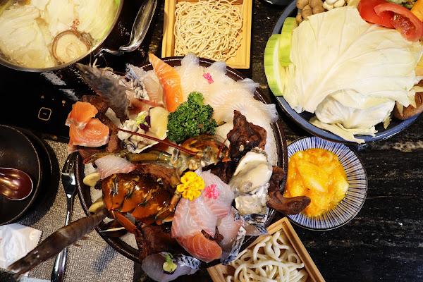 二本松涮涮屋,台北大安火鍋推薦,近大安站,御品海鮮套餐,紹興放山雞腿,優質肉品,海鮮,高級精緻鍋物,精燉湯頭