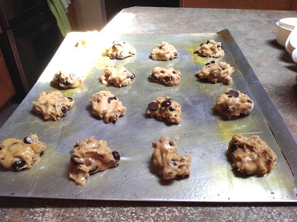 Place in preheated 325 degree F. oven and bake for 12 minutes. Then remove...