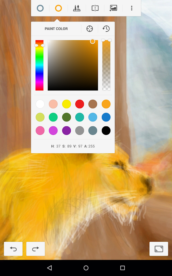 Dessiner paint free applications android sur google play for Google paint online