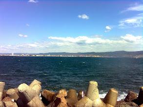Photo: Widok z wyspy ze starym miastem Nesebyr