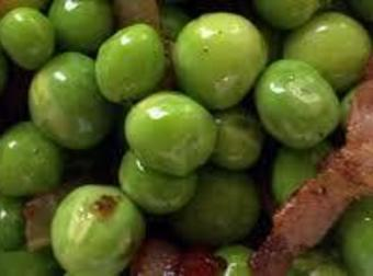 Mom's Peas With Onions And Bacon Recipe