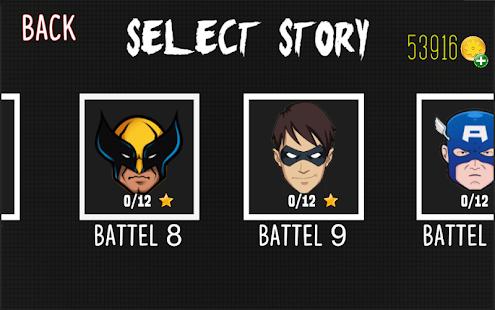 Stickman Warriors 4 Heros Wars Screenshot