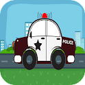 Police car Run icon