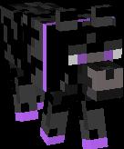 Cute Ender Wolf Skin