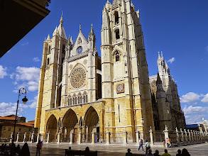 Photo: Leon- la cathédrale