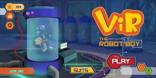 Vir The Robot Boy Run screenshots 9