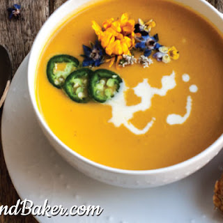 Spicy Jalapeno Carrot Soup