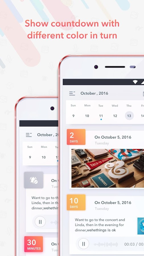 Next - plan & remind- screenshot