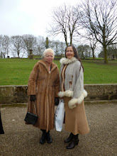 Photo: The ladies appropriately dressed (it was cold up north!)