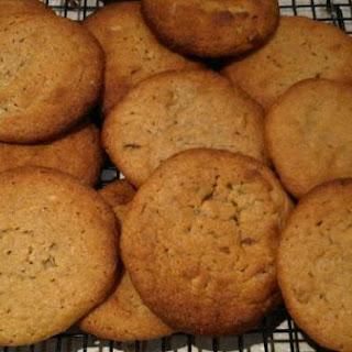 Peanut Butter & Miso Cookies