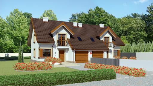 projekt Dom przy Amarantowej