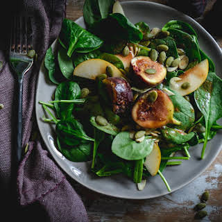 Spinach And Fig Salad.