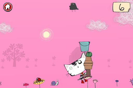 Wussywat Garden Games screenshot