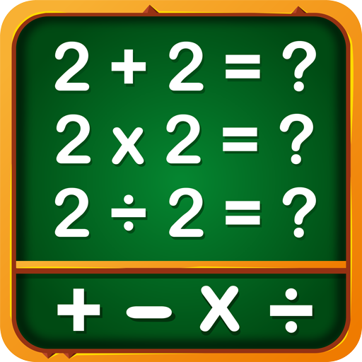Math Games, Learn Add, Subtract, Multiply & Divide app (apk) free download for Android/PC/Windows